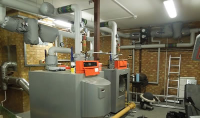commercial gas boilers